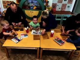 Развлечения с родителями в группах раннего возраста