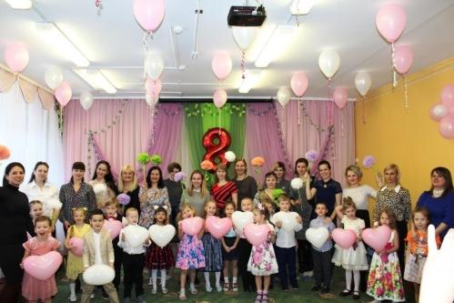 В МБДОУ №27 прошли праздничные мероприятия, посвященные 8 Марта