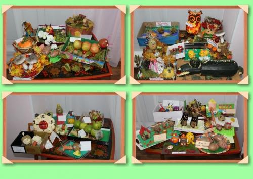 """Выставка """"Приключения во фруктово – овощном  царстве"""""""